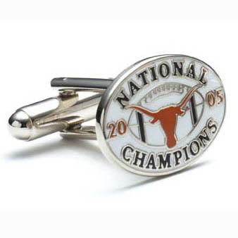 2005 Champion Longhorns Cufflinks
