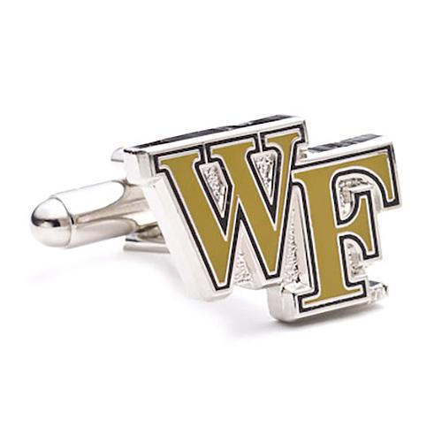 Stainless Steel Wake Forest University Cufflinks