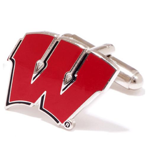 Wisconsin Badgers Cufflinks
