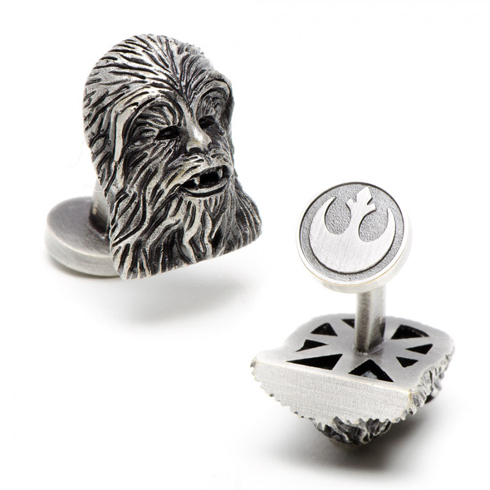 3-D Palladium Chewbacca Cufflinks