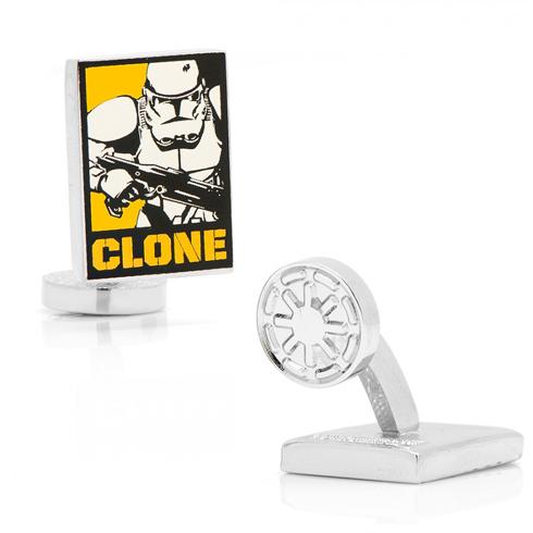 Star Wars Clone Trooper Pop Art Poster Cufflinks