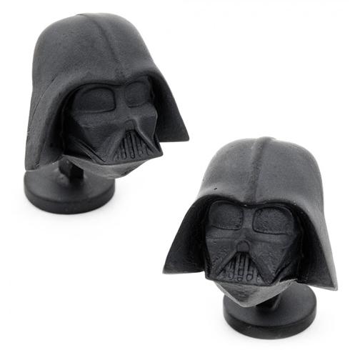 3-D Darth Vader Cufflinks
