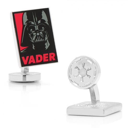 Star Wars Darth Vader Pop Art Poster Cufflinks