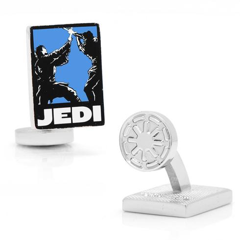 Star Wars Jedi Pop Art Poster Cufflinks