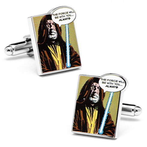 Star Wars The Force Will Be With You Always Comic Cufflinks