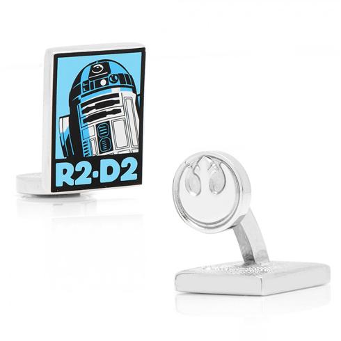 Star Wars R2D2 Pop Art Poster Cufflinks