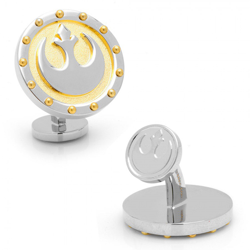 Rebel Symbol Steampunk Cufflinks