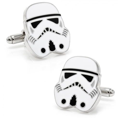 Black and White Stormtrooper Cufflinks