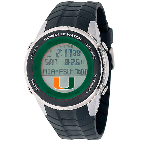 University of Miami Schedule Watch