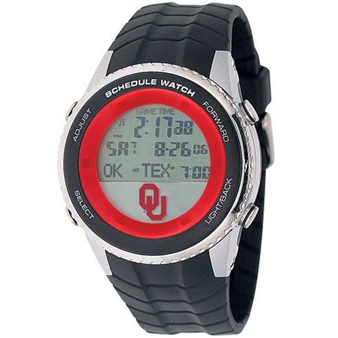 University of Oklahoma Schedule Watch