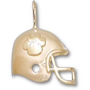 Clemson Tigers 3/4in 10k Helmet Pendant