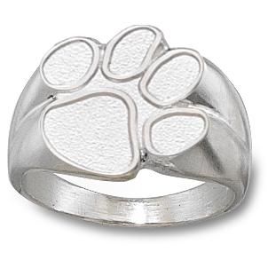 Sterling Silver Clemson University Men's Ring