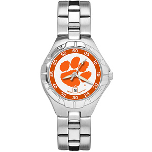 Clemson University Ladies Stainless Pro II Watch