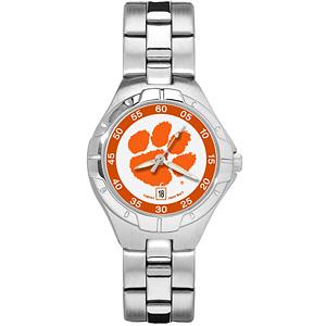 Clemson University Ladies Stainless Pro II Watch