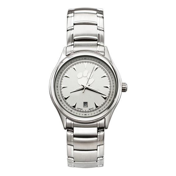Clemson University Men's Classic Watch with Bracelet