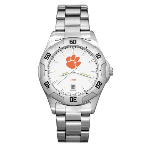 Clemson University All-Pro Men's Chrome Watch