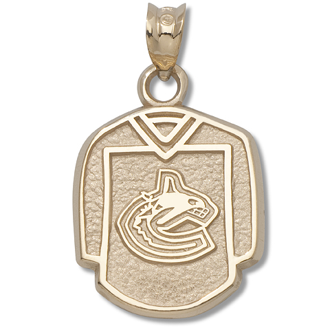 Vancouver Canucks Jersey 14kt Yellow Gold