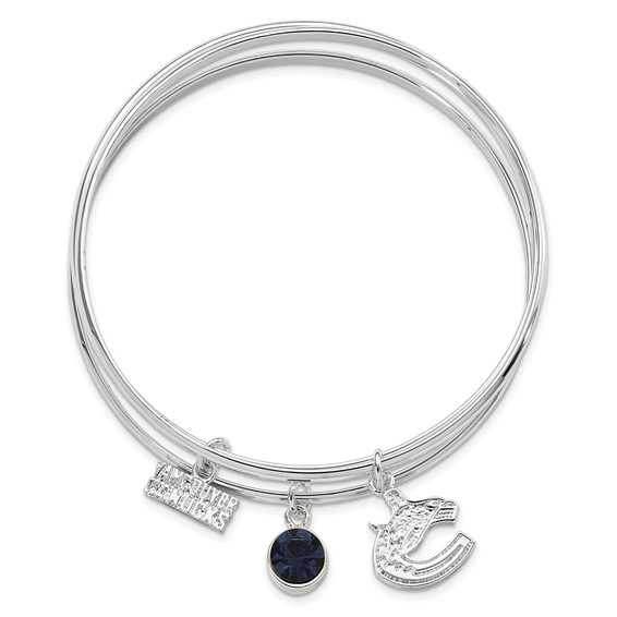Vancouver Canucks Triple Bangle Bracelet
