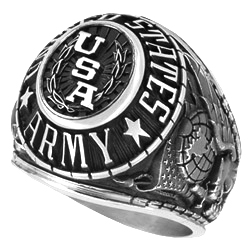 Men's Combat Ring in Valadium