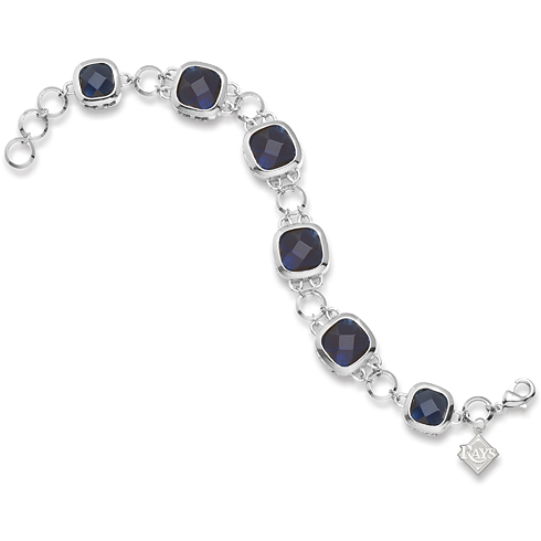 8in Tampa Bay Rays Crystal Legend Bracelet