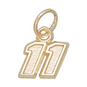 Denny Hamlin No. 11 1/4in 10k Pendant