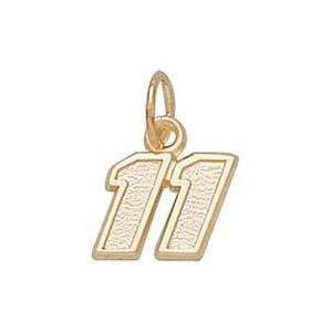 Denny Hamlin No. 11 5/16in 10k Pendant