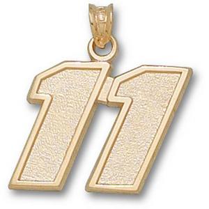 Denny Hamlin No. 11 5/8in 10k Pendant