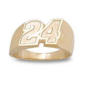 Jeff Gordon No. 24 Ladies' Ring - 10k