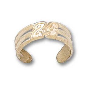 Jeff Gordon 14k Toe Ring