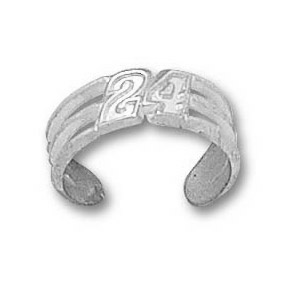 Jeff Gordon Sterling Silver Toe Ring