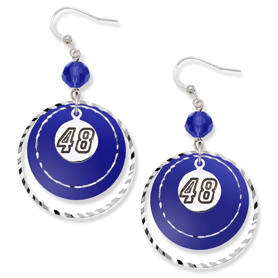Jimmie Johnson Game Day Earrings