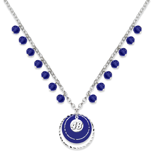 Jimmie Johnson Game Day Necklace