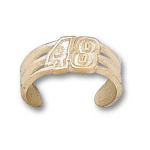 Jimmie Johnson 14k Toe Ring