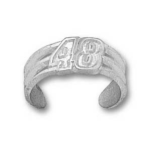 Jimmie Johnson Sterling Silver Toe Ring