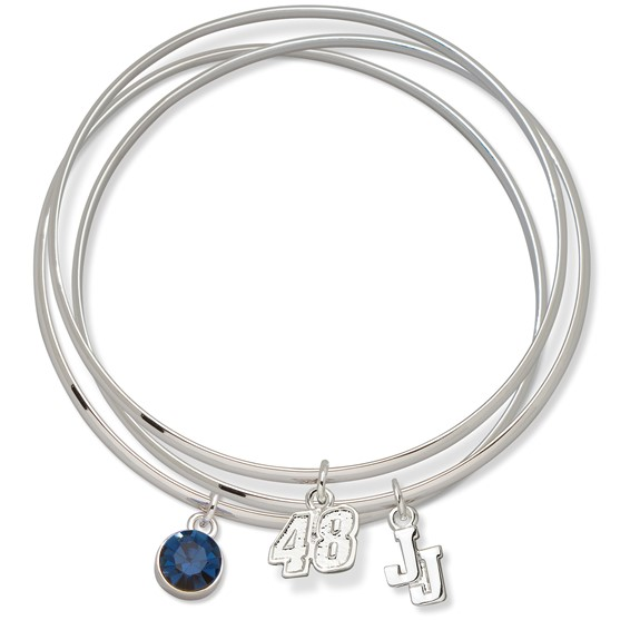 Jimmie Johnson Triple Bangle Bracelet