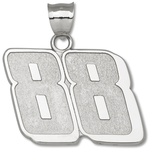 Sterling Silver 1 1/4in Driver 88 Pendant