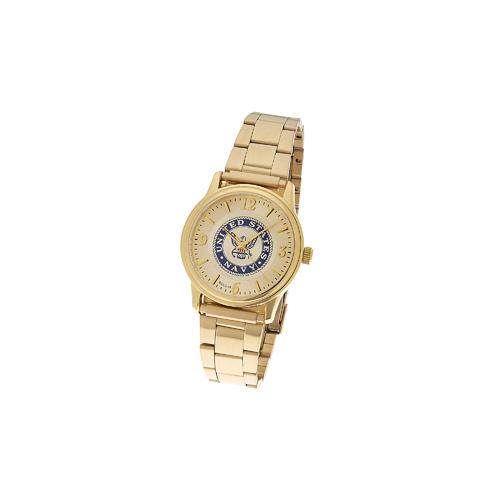 38mm Gold-tone Bulova United States Navy Watch