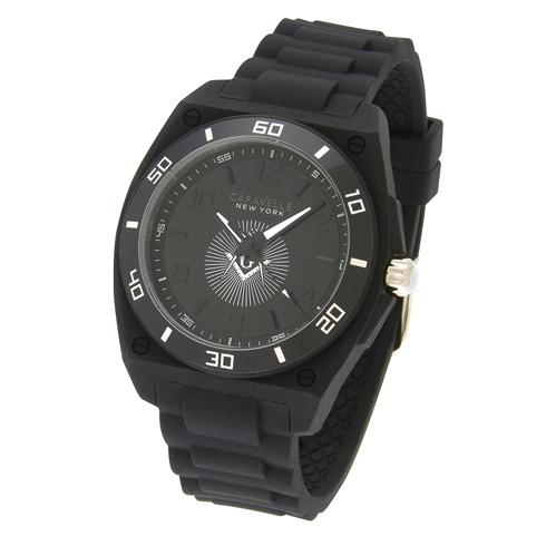 Bulova Black 40mm Sport Masonic Watch