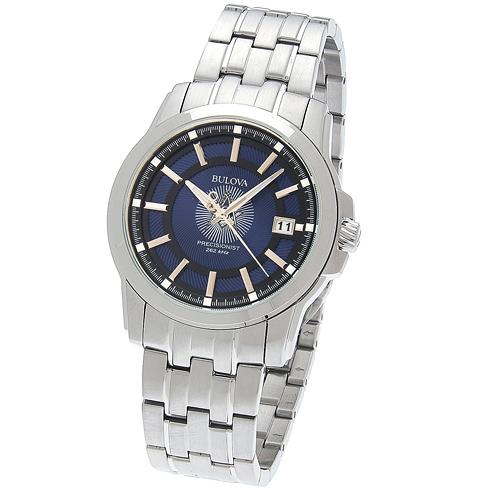 42mm Bulova Precisionist Masonic Watch with Steel Bracelet