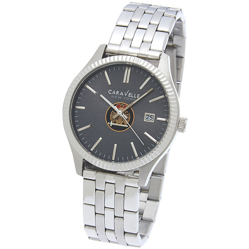 41mm Caravelle Scottish Rite Watch with Steel Bracelet
