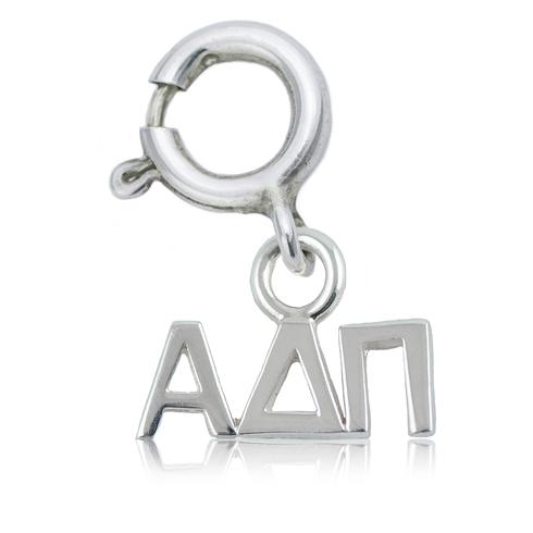 Sterling Silver Alpha Delta Pi Charm