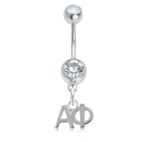 Alpha Phi Button Ring