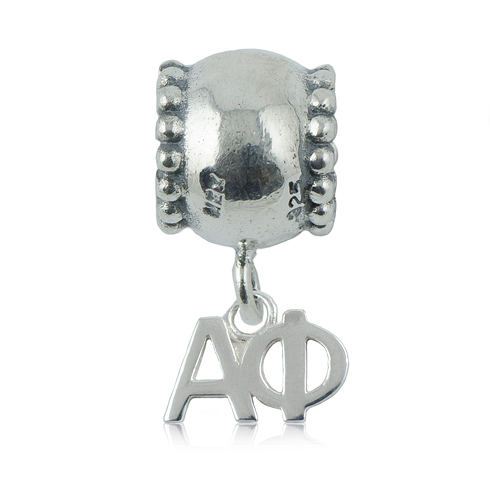 Sterling Silver Alpha Phi Daisy Charm Bead