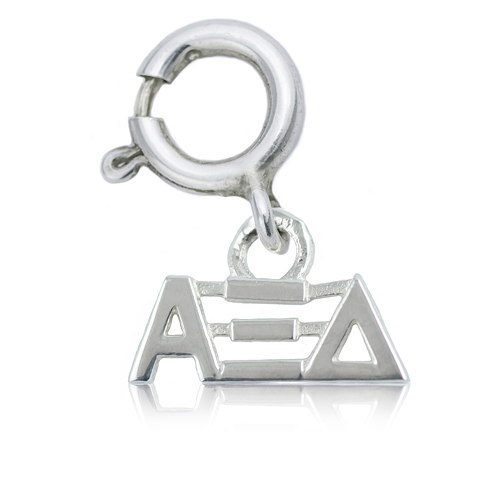 Sterling Silver Alpha Xi Delta Charm