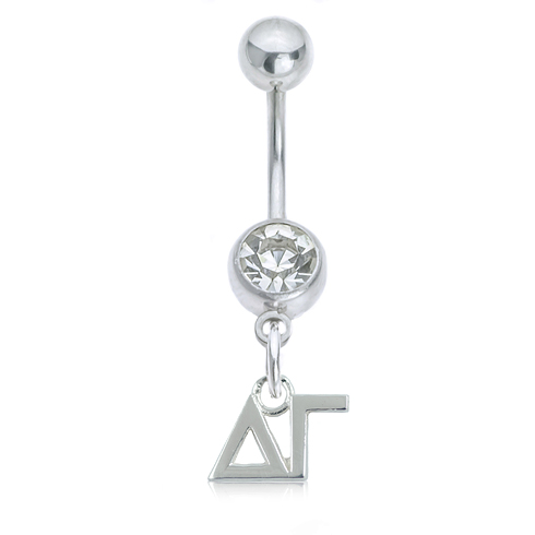 Delta Gamma Button Ring