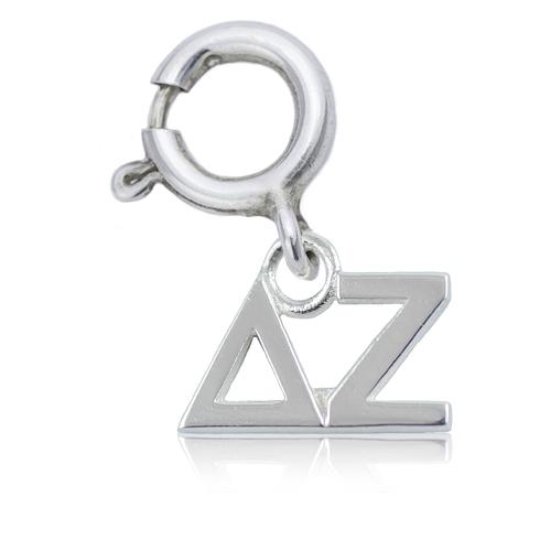 Sterling Silver Delta Zeta Charm