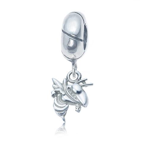 Sterling Silver Georgia Tech Charm Bead