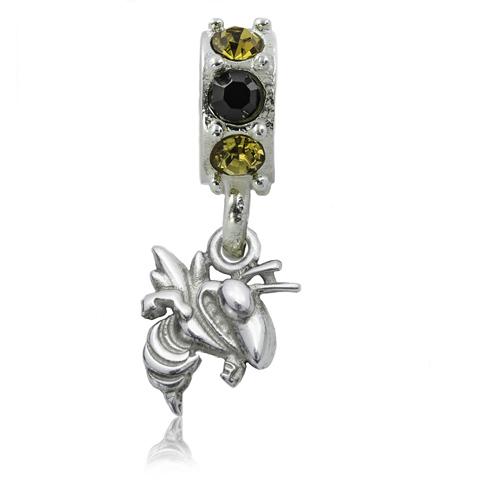 Sterling Silver Spirit Georgia Tech Charm Bead