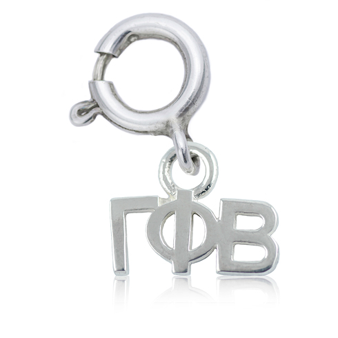 Sterling Silver Gamma Phi Beta Charm