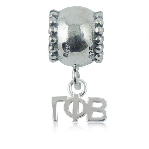 Sterling Silver Gamma Phi Beta Daisy Charm Bead